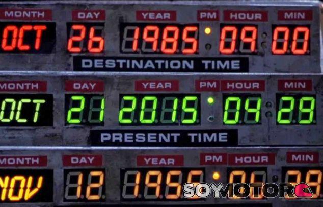 21 de octubre de 2015, el 'Regreso al futuro' ya es presente - SoyMotor