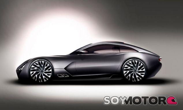 Esta es la silueta del nuevo deportivo de la firma británica TVR - SoyMotor