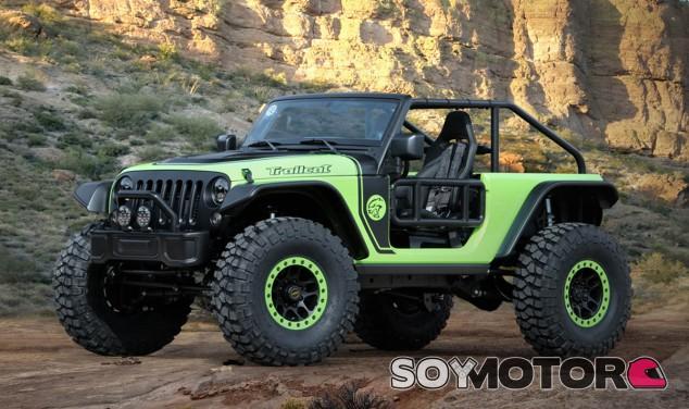 Este es uno de los siete prototipos presentados en el Easter Safari Jeep 2016 - SoyMotor
