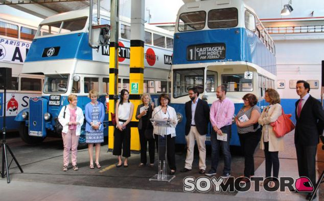 Acto de estreno del Museo de la EMT con las principales autoridades madrileñas - SoyMotor