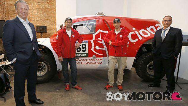 Presentación del Acciona 100% EcoPowered - SoyMotor.com