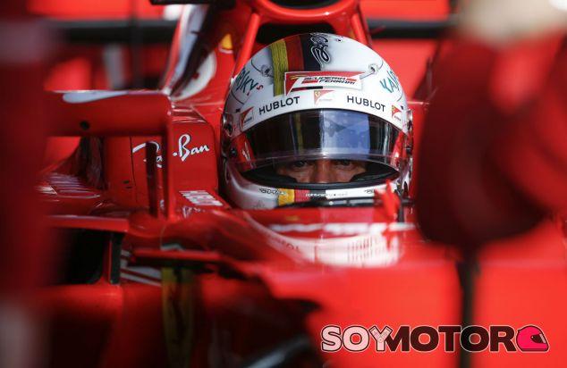 """Vettel: """"El coche es mejor que el del año pasado, estoy contento con él"""" - SoyMotor"""