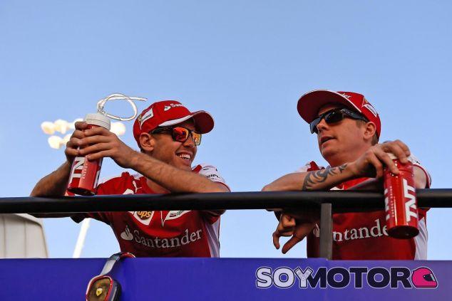 La relación de Vettel y Räikkönen fuera de la pista no podría ser mejor - LaF1