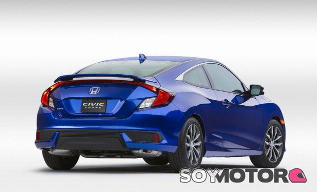 Honda da un paso adelante en deportividad con el nuevo Civic Coupé - SoyMotor