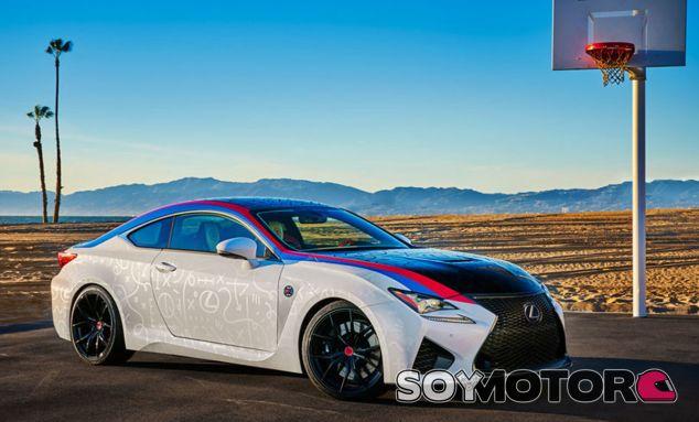 Este es el Lexus RC-F que todo aficionado al baloncesto querría tener - SoyMotor