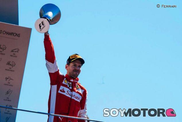 Vettel ya acumula tres victorias esta temporada - LaF1