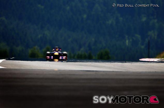 Sebastian Vettel en el Gran Premio de Alemania 2013, en el Nürburgring - LaF1
