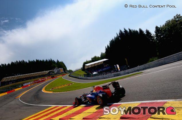 Sebastian Vettel en el GP de Bélgica de 2015 - LaF1