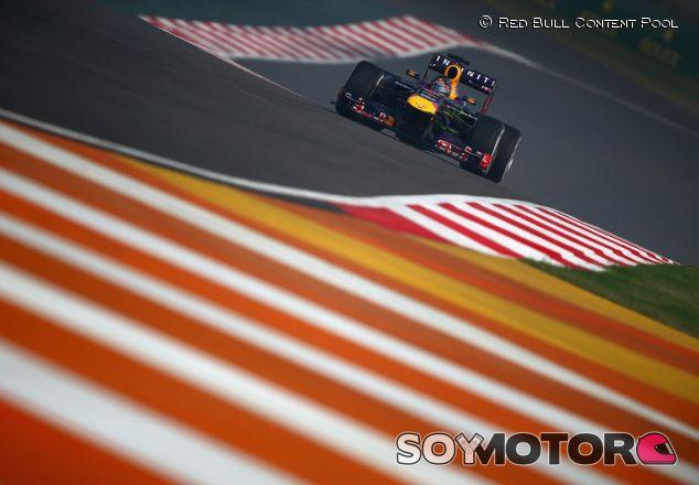 Red Bull en el Gran Premio de la India del año pasado - LaF1