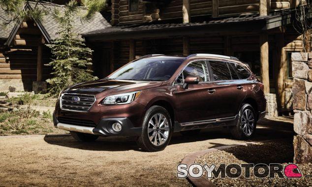 La foto corresponde al Subaru Outback con acabado 'Touring' - SoyMotor