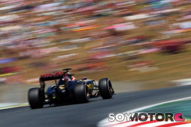Romain Grosjean en Barcelona - LaF1.es