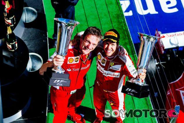 James Allison seguirá en Ferrari hasta 2018 - LaF1