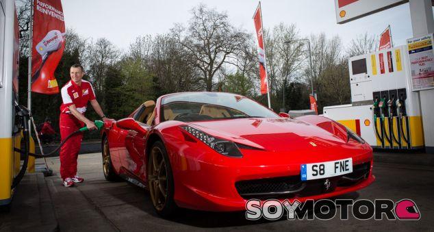 Shell V-Power Nitro + Premium - SoyMotor