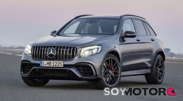 Los nuevos Mercedes-AMG GLC 63 y GLC 63 Coupé contará con su partinente versión S - SoyMotor