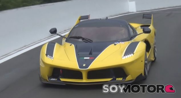 Este es el llamativo Ferrari FXX K de la Señora Sloss - SoyMotor