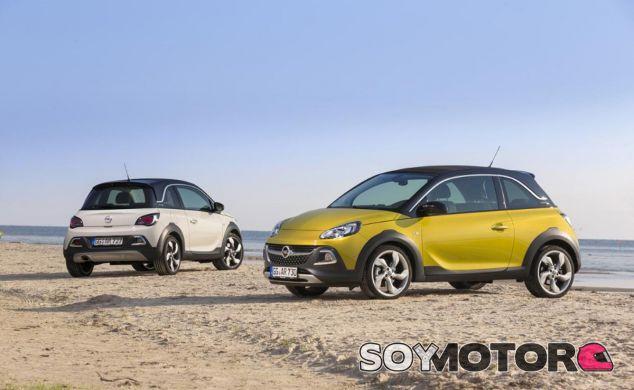 El Opel Adam recibe un toque extra de color - SoyMotor