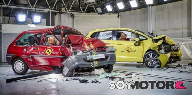 EuroNCAP o por qué es 'mejor' accidentarse hoy que hace 20 años- SoyMotor.com