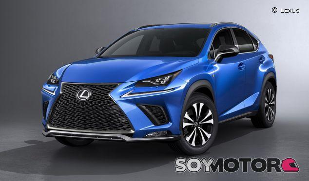 Con una imagen muy reconocible, el Lexus NX recibe pinceladas que actualizan su diseño - SoyMotor