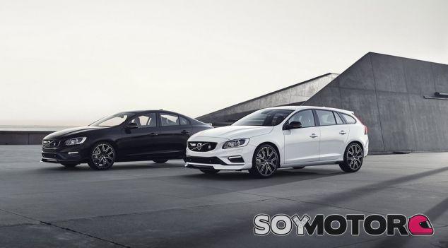 Los Volvo S60 y V60 Polestar reciben un kit aerodinámico todavía más deportivo - SoyMotor
