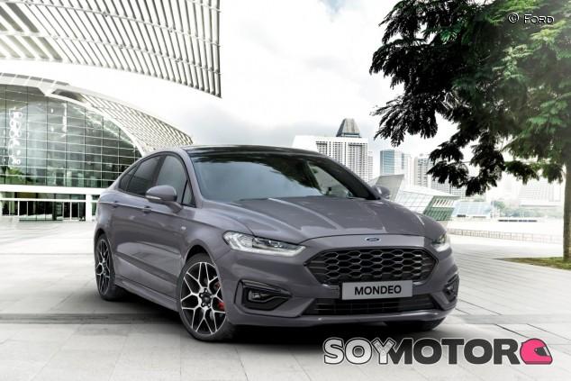 El Mondeo se pone al día con nuevos motores y variante híbrida - SoyMotor.com