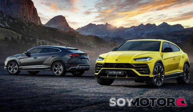Lamborghini urus - SoyMotor.com