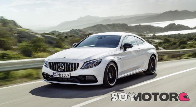 El modelo de la foto es el Mercedes-AMG C 63 Coupé - SoyMotor