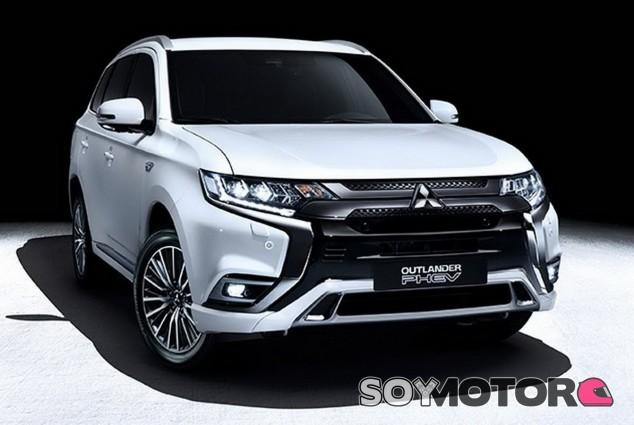 Mitsubishi Outlander PHEV 2018 - SoyMotor.com