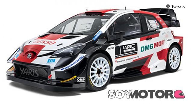 Toyota cambia la imagen del Yaris WRC en su última temporada - SoyMotor.com