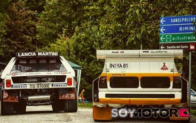 Lancia Delta S4 y Audi Quattro S1 en San Marino - SoyMotor.com