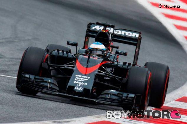 Fernando Alonso en el GP de Austria - LAF1.es