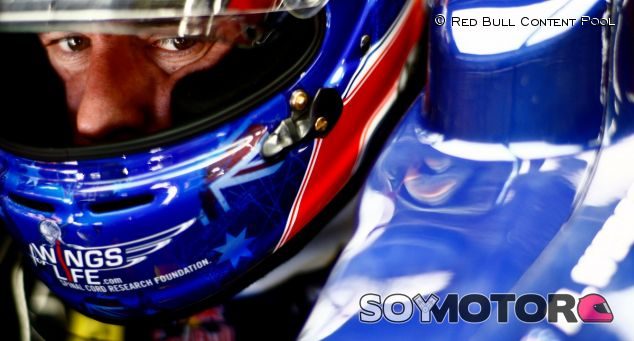 Mark Webber en el Gran Premio de Brasil de 2012 - LaF1