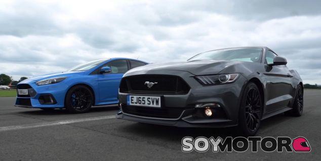 El Ford Focus RS y el Ford Mustang son dos formas opuestas de entender la deportividad - SoyMotor