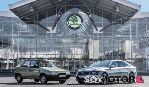 25 años de historia de Skoda reflejados en una foto - SoyMotor