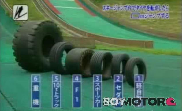 Este curioso experimento con neumáticos promete dejar alguna sorpresa - SoyMotor