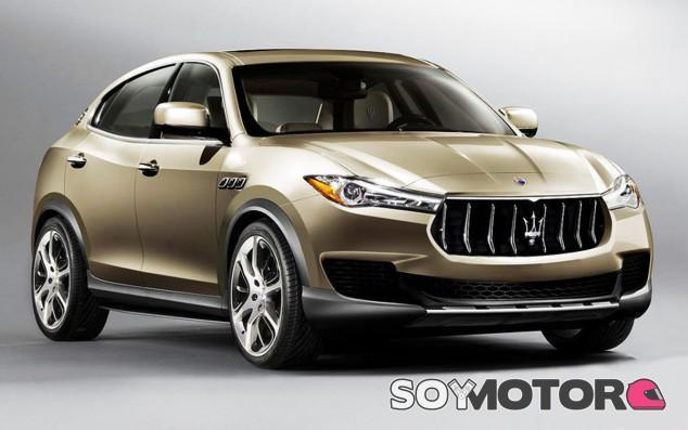 Este sería el aspecto definitivo del nuevo Maserati Kubang - SoyMotor