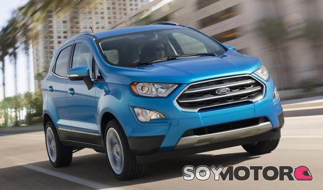 El Ford EcoSport no rompe con el modelo anterior en su diseño, aunque presenta nuevas ópticas - SoyMotor