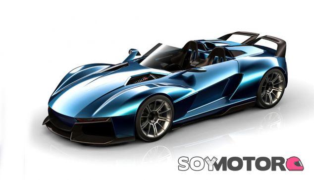 El diseño del Rezvani Beast X es espectacular, con una aerodinámica muy cuidada - SoyMotor
