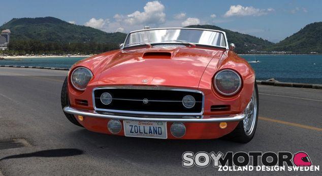 Zolland Design se atreve con el mítico MGB de 1963 - SoyMotor