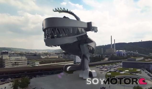 El Museo de Mercedes es un monstruo que nos recuerda a Godzilla - SoyMotor