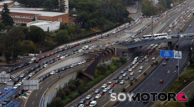 Madrid se convierte en una ratonera cuando llueve - SoyMotor