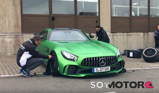 Preparación previa del Mercedes-AMG GT R antes de enfrentarse a Nürburgring - SoyMotor