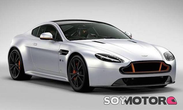 Este Aston Martin rinde homenaje al escuadrón de vuelo acrobático 'Blades' - SoyMotor
