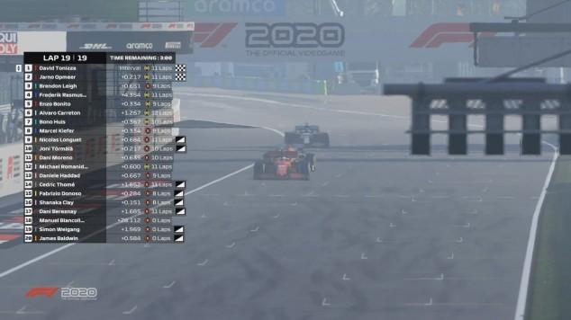 F1 Esports 2020, sexta evento: Tonizza resiste para ganar en Monza - SoyMotor.com