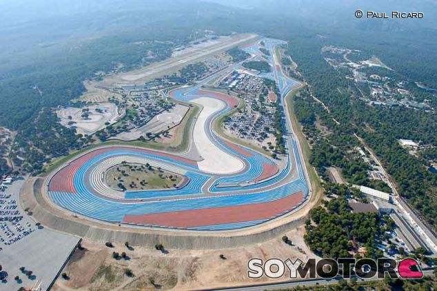 Vista aerea del circuito de Paul Ricard – SoyMotor.com
