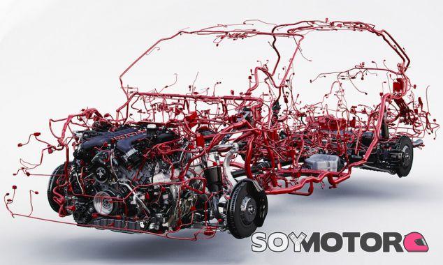 Todo el cableado del Bentley Bentayga en sólo una imagen - SoyMotor