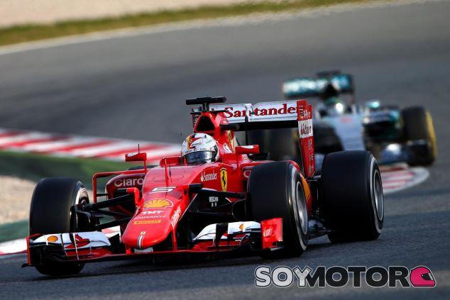 Vettel ha ganado a Mercedes tres veces este año y Wolff espera más guerra en 2016 - LaF1