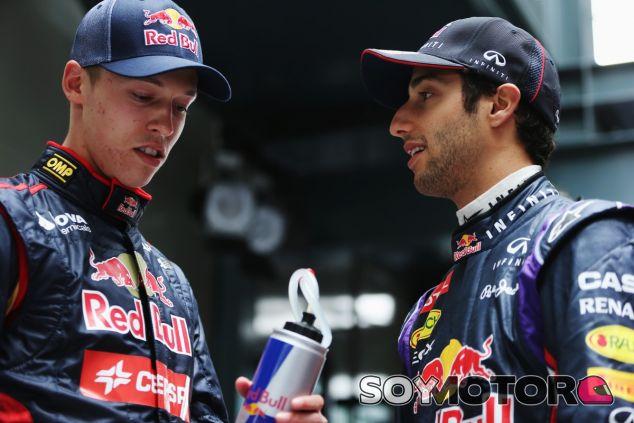 Daniil Kvyat y Daniel Ricciardo - LaF1