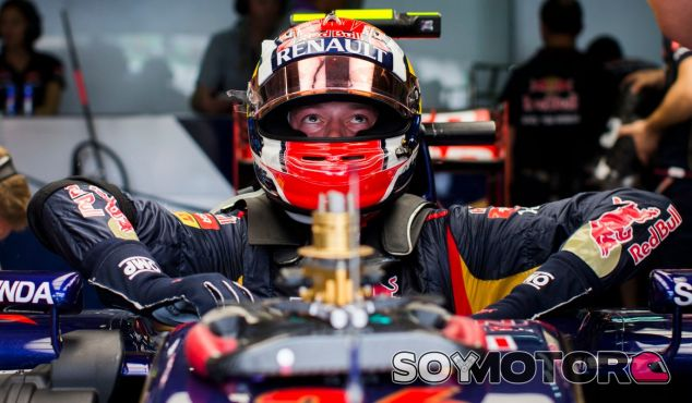 Daniil Kvyat en el STR9 de Toro Rosso - LaF1