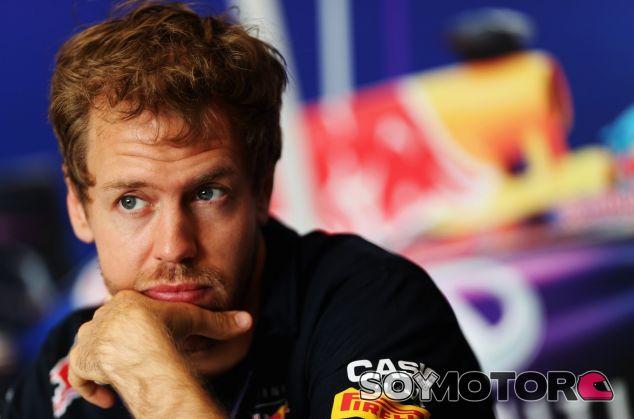 Sebastian Vettel, hoy en Baréin, a las vísperas del Gran Premio - LaF1