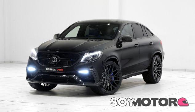 El negro mate le da un toque muy especial al Mercedes GLE de Brabus - SoyMotor